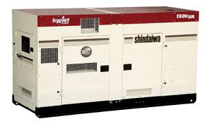 Shindaiwa kWiet DGK150D 150kVA
