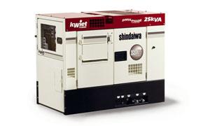 Shindaiwa kWiet DGK25E 25kVA