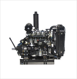 Isuzu 4LE2 Power Unit with PTO Clutch