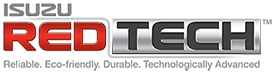 Isuzu Red Tech Logo
