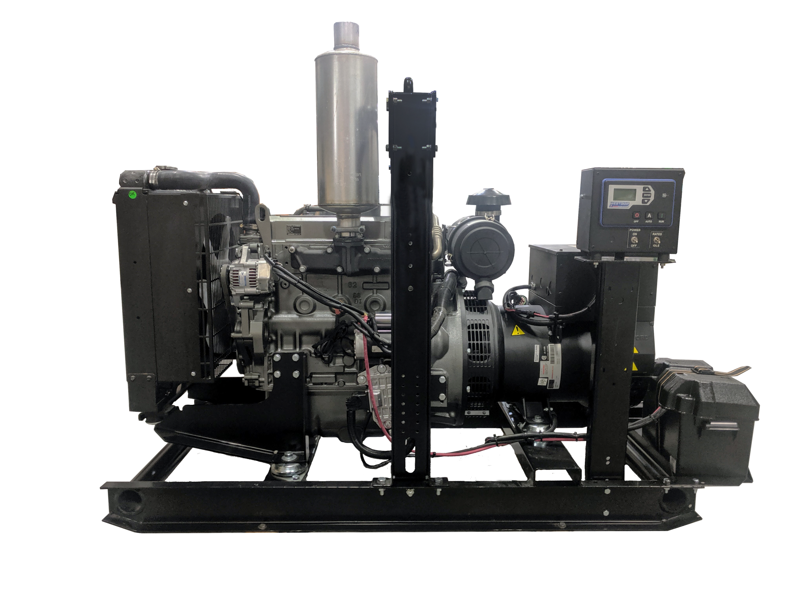 Diesel Engine Generator Picture